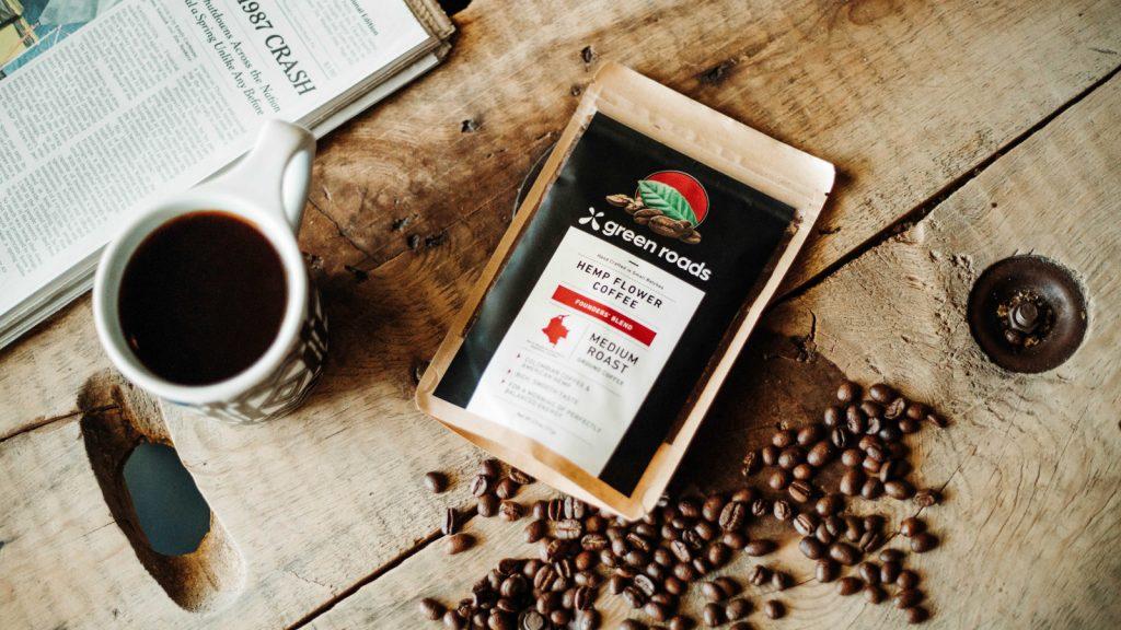 green roads hemp flower coffee